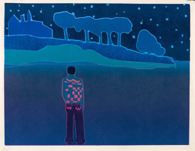 In the Bosom of the Darkest Woods by Tom Hammick