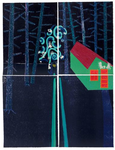 Night Cabin by Tom Hammick