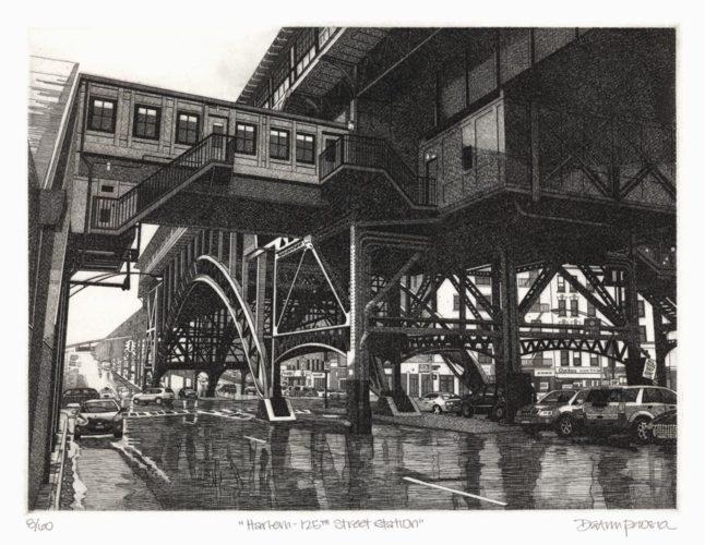 Harlem – 125th Street Station by Deann Prosia