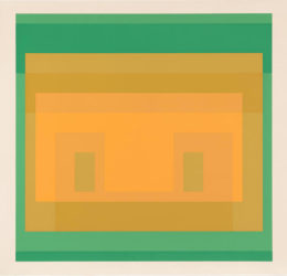 I-S Va 6, from Six Variants by Josef Albers at