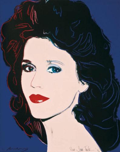 Jane Fonda (FS II.268) by Andy Warhol