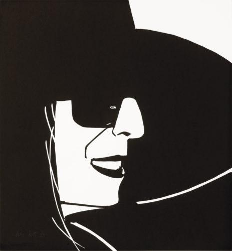 Black Hat (Ada) by Alex Katz at