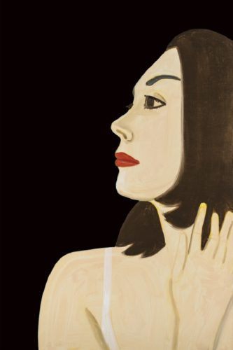 Laura 1 by Alex Katz at
