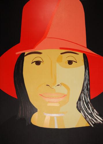 Red Hat Ada by Alex Katz at