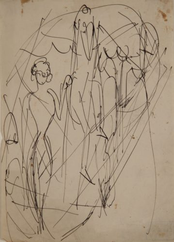 Zirkusszene (Circus Scene) by Ernst Ludwig Kirchner at Galerie Henze & Ketterer & Triebold