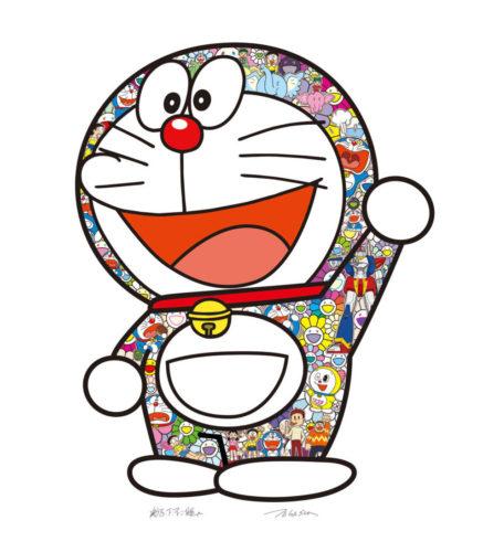 Doraemon: Hip Hip Hurrah by Takashi Murakami