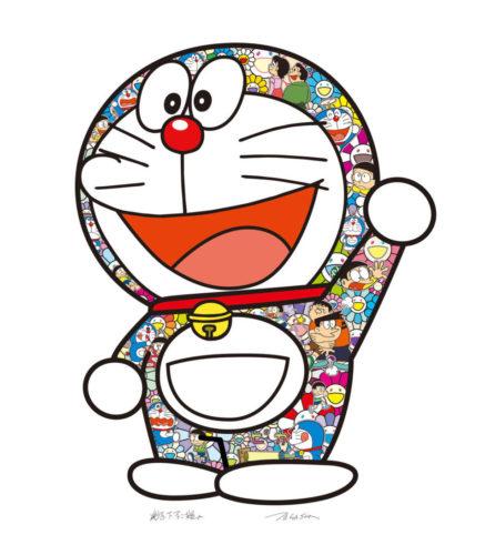 Doraemon: Thank You by Takashi Murakami