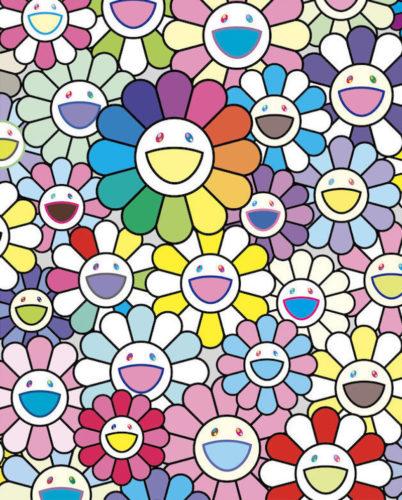 Flowers of Hope by Takashi Murakami