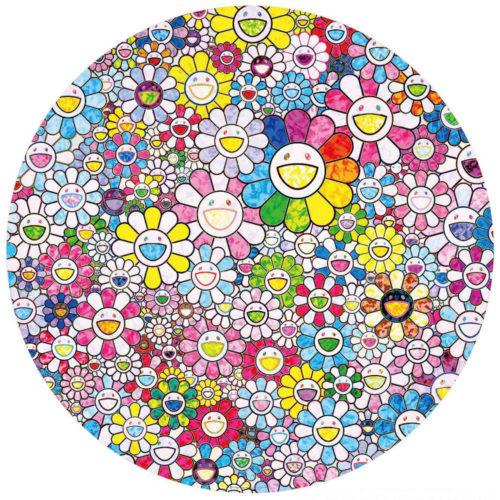 Happy x A Trillion Times: Flowers by Takashi Murakami