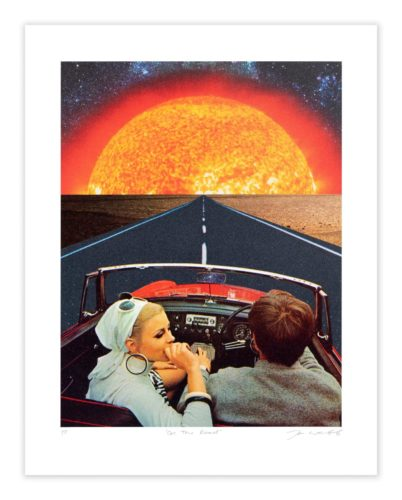 On The Road by Joe Webb by Joe Webb