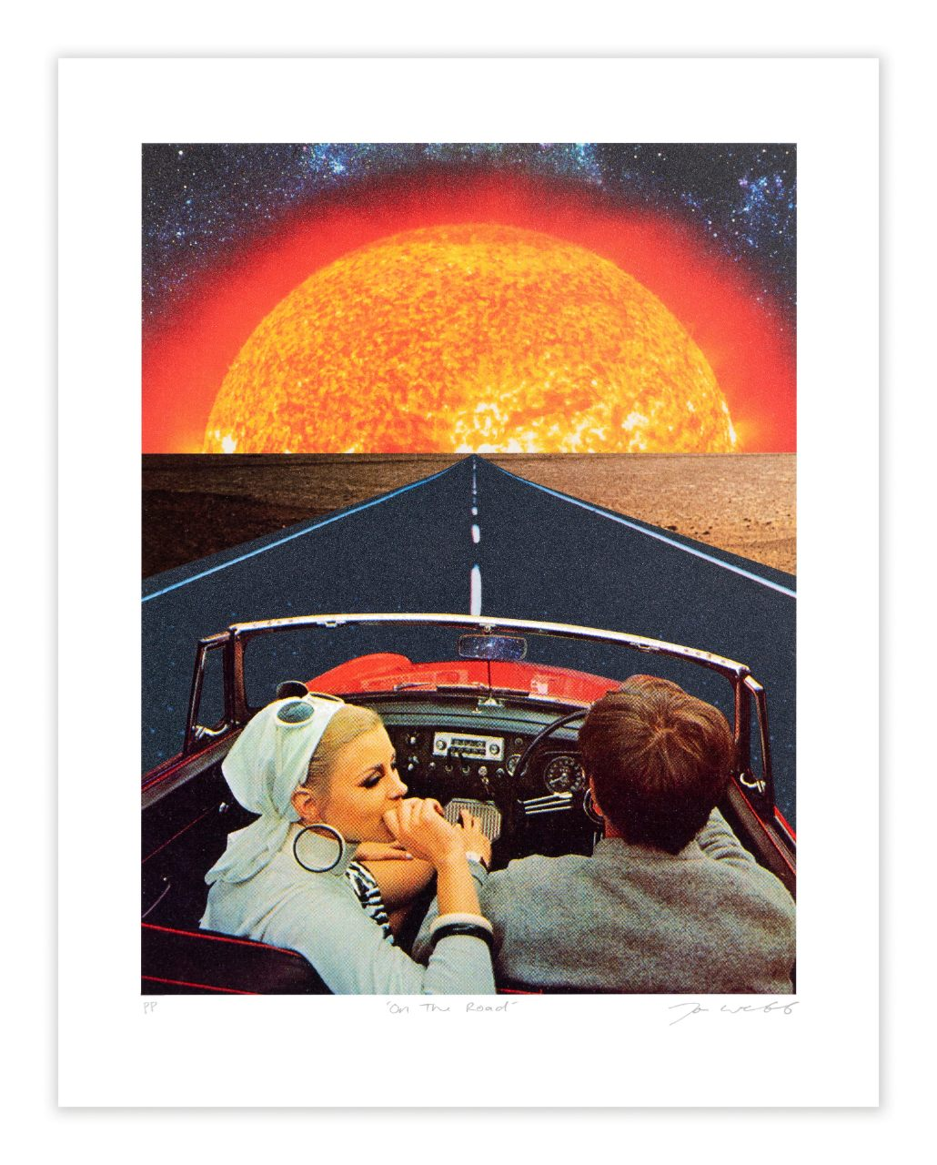 On The Road by Joe Webb by Joe Webb