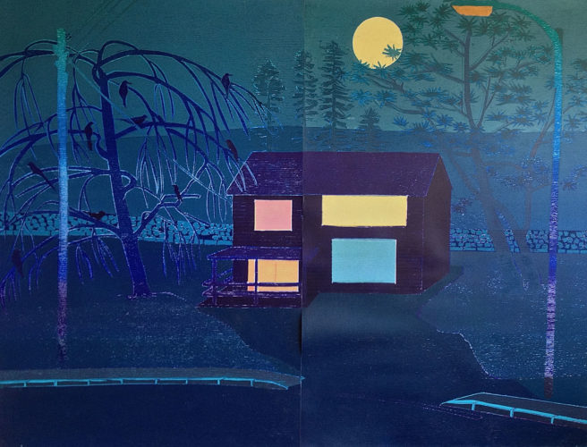 Outskirts Night by Tom Hammick