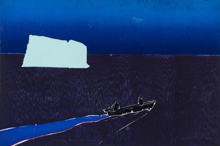 Passing the Narrows by Tom Hammick
