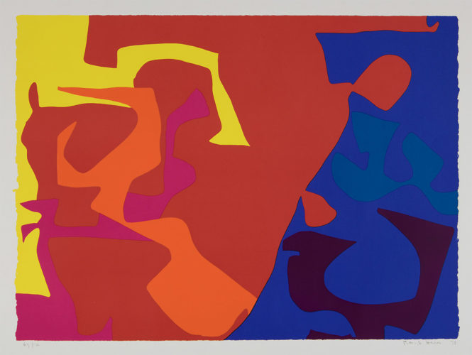 January 1973: 5 by Patrick Heron