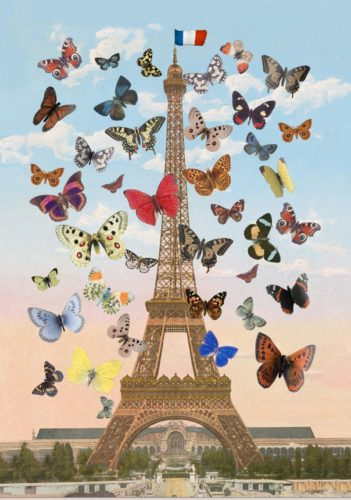 Eiffel Tower 2015 (large) by Peter Blake