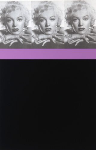 Marilyn Monroe, Black by Peter Blake at