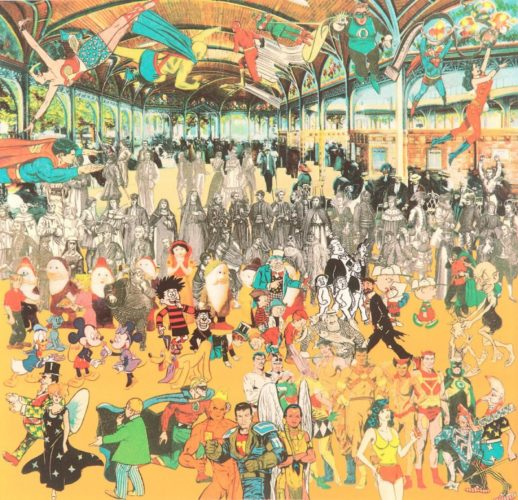 Vichy – A Convention of Comic Book Characters by Peter Blake