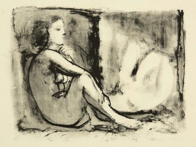 Les deux femmes nues by Pablo Picasso