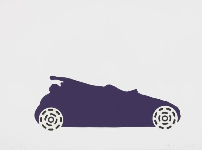 Purple Transit Circle by Humphrey Ocean RA at