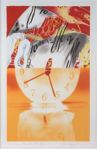 The Hole in the Center of the Clock by James Rosenquist at