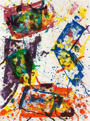Untitled by Sam Francis at Michael Lisi/Contemporary Art