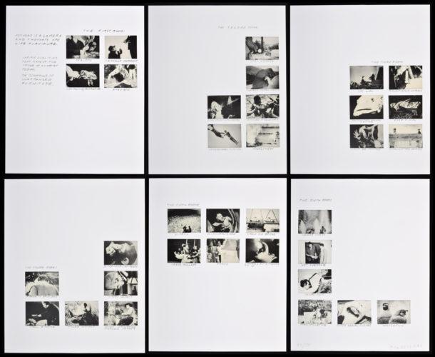Six Rooms by John Baldessari