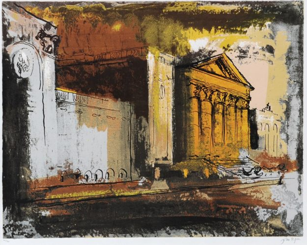 Stowe Southside of the House by John Piper