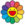 Smile On, Rainbow Flower!! by Takashi Murakami
