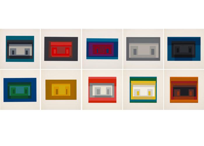 Ten Variants by Josef Albers
