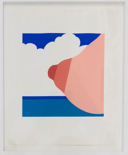 Seascape (Tit) by Tom Wesselmann