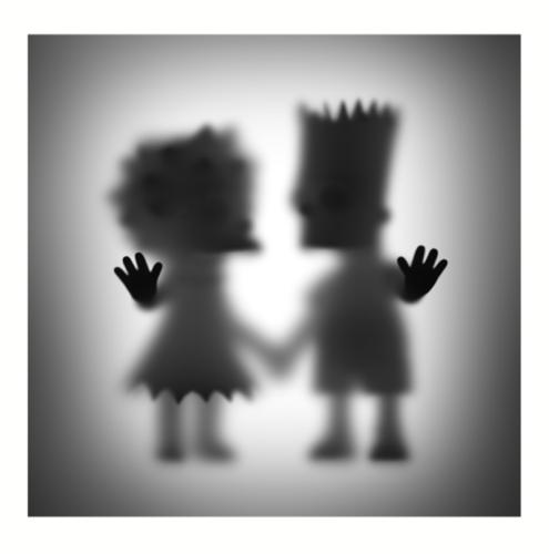 Gone Lisa and Bart by Whatshisname at Grabados y Litografias.com