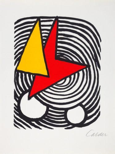 Triangle et Quadrilatère by Alexander Calder