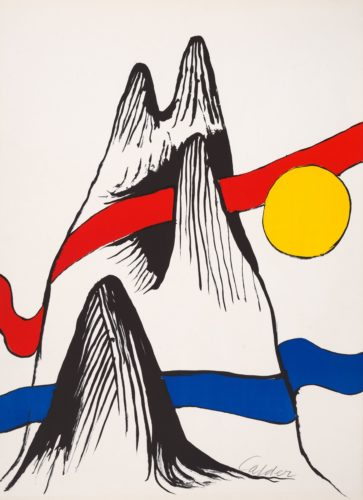 Les Rubans by Alexander Calder