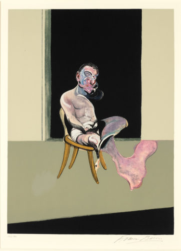 Triptych August, 1972 by Francis Bacon