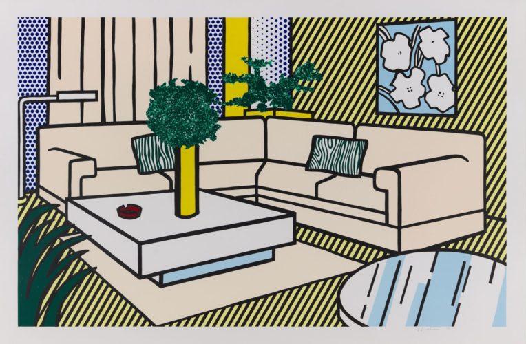 Yellow Vase by Roy Lichtenstein