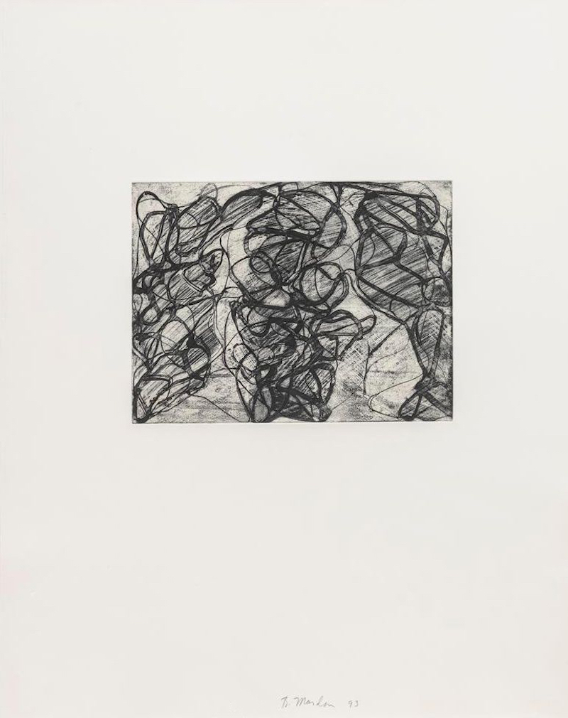 After Botticelli I by Brice Marden