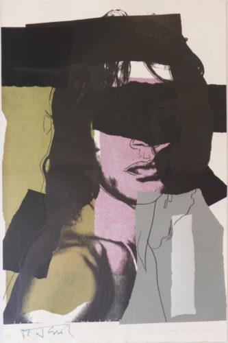 Mick Jagger (FS II.145) by Andy Warhol