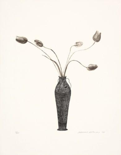 Tulips by David Hockney at