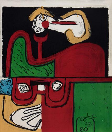 Portrait by Charles-Edouard Jeanneret Le Corbusier