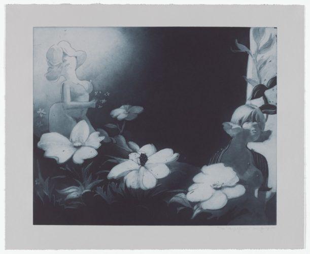 Night Flowers by Lisa Yuskavage
