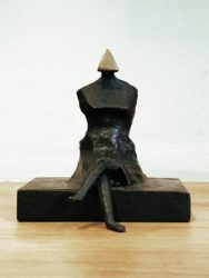 Miniature Figure III by Lynn Chadwick at Fairhead Fine Art