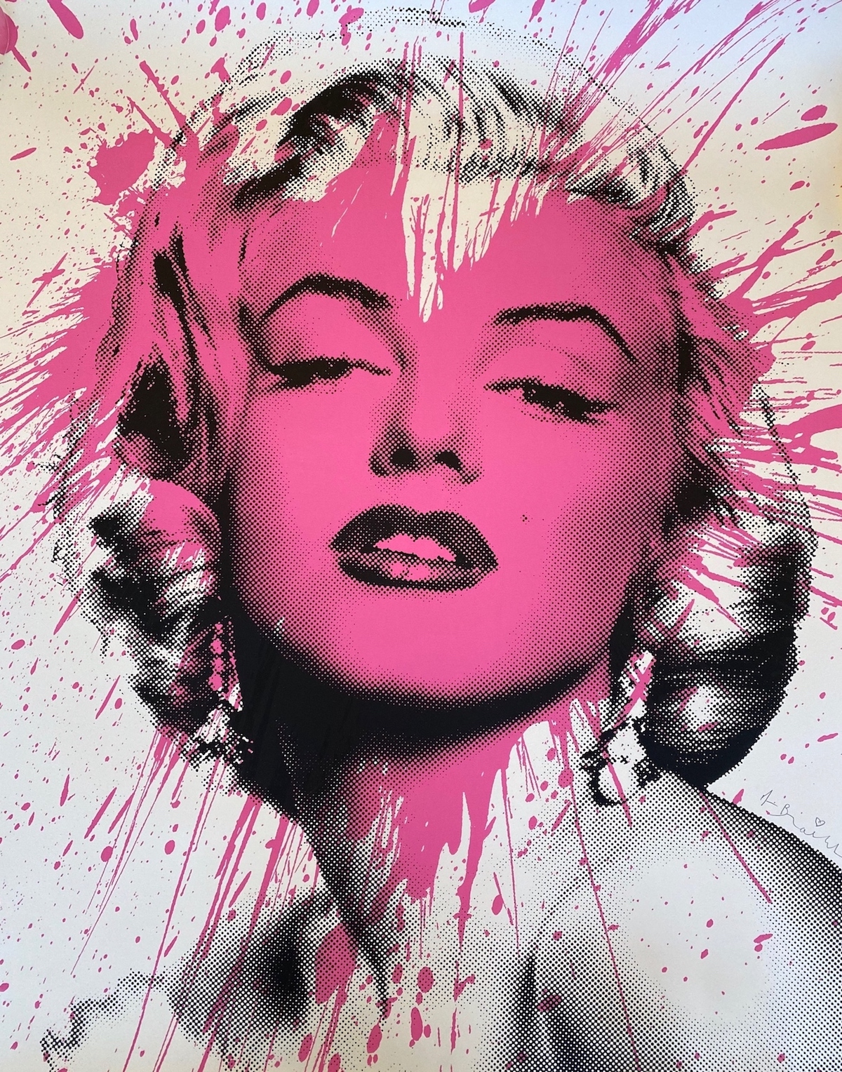 My Heart is Yours (Marilyn Monroe) by Mr. Brainwash