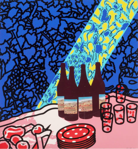 Picnic Set by Patrick Caulfield