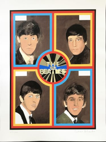 The Beatles, 1962 by Peter Blake at Fairhead Fine Art