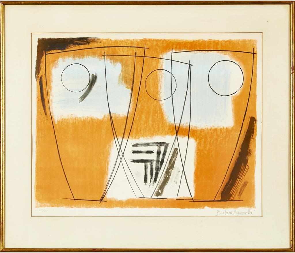 Three Forms by Barbara Hepworth