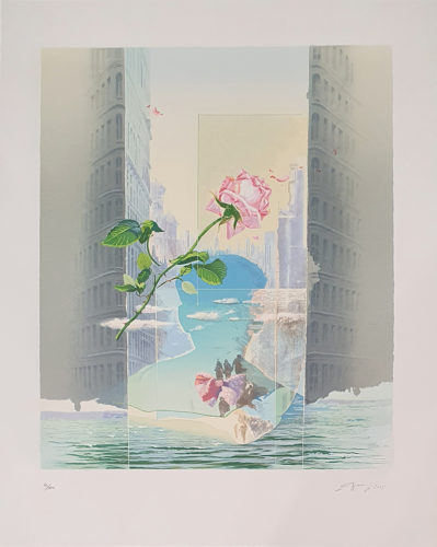 Huida a Nueva York by Eduardo Naranjo at