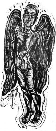 Manequim Querubim by Francisco Maringelli at Galeria Gravura Brasileira