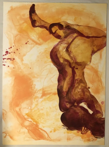 Tumble by Eric Fischl