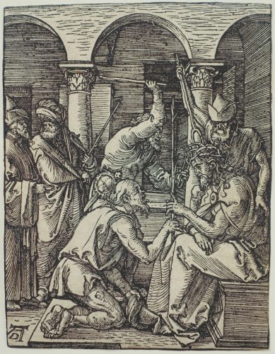 The Mocking of Christ by Albrecht Durer