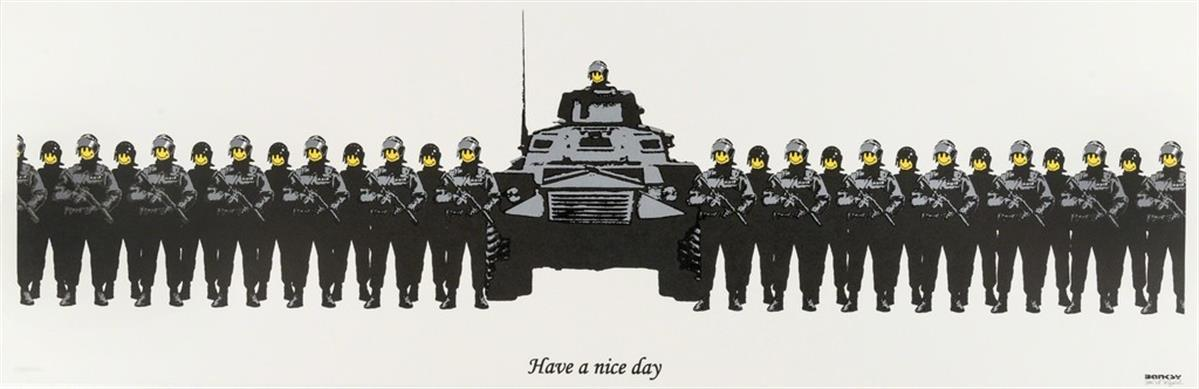 Have a Nice Day (Anarchist Book Fair) (Signed) by Banksy